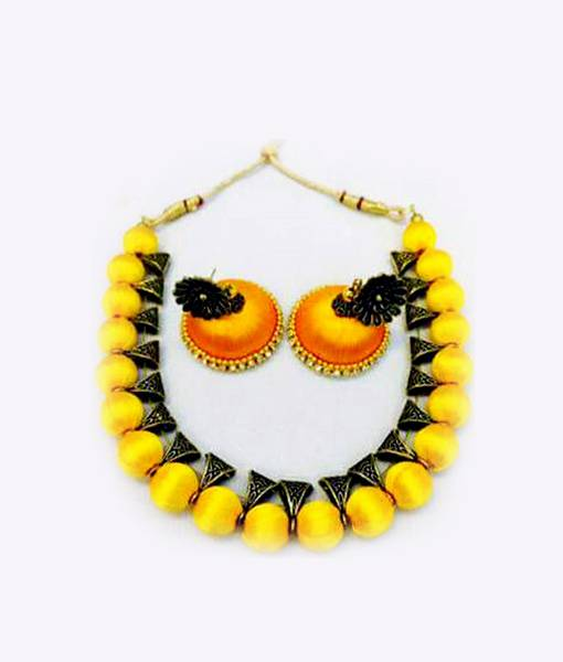 yellow-silk-thread-necklace-set-ai-st1910002