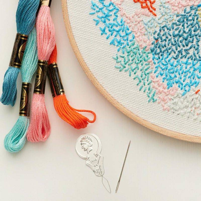 Hand Embroidery For Beginners Learn Stiching Authindia