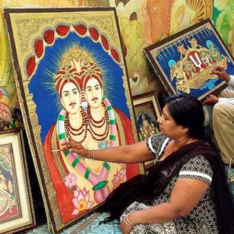 Thanjavur:Tanjore Painting