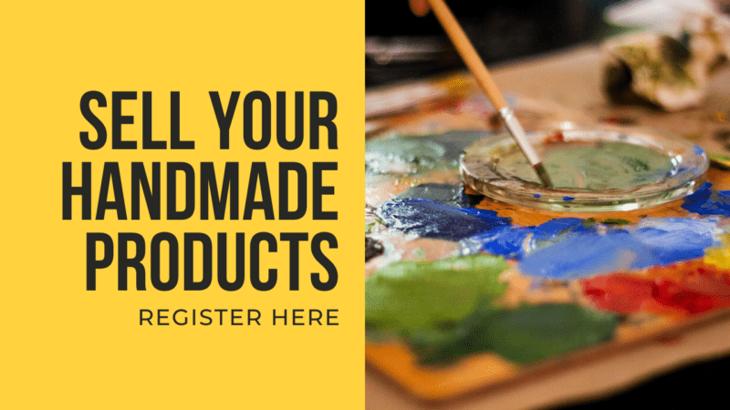 Sell handmade items online in India