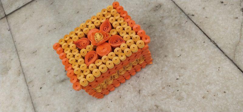 Paper Quilling Handicrafts